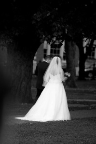 wedding bw