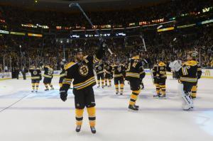 Bruins Salute