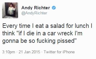 salad tweet
